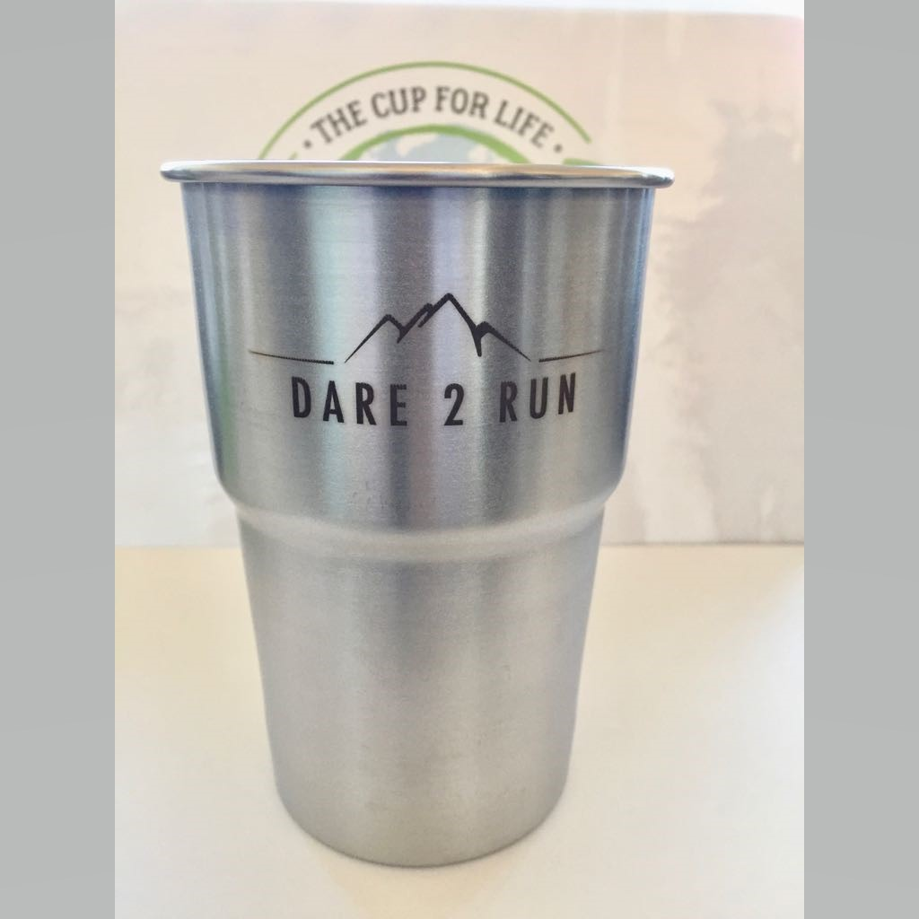 Dare2Run - Limited Edition Eco Pint Cup